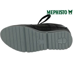 Mephisto Vicky Noir/python cuir basket_mode_basse