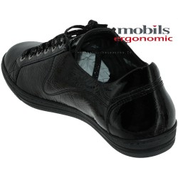 Mobils by Mephisto HAWAI Noir vernis lacets_derbies