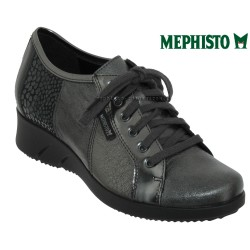 Mephisto Chaussures Mephisto Melina Gris cuir a_talon_derbies