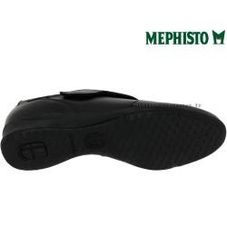 Mephisto Viviana Noir cuir scratch