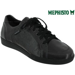 mephisto-chaussures.fr livre à Guebwiller Mephisto Daniele Gris foncé vernis à lacets derbies