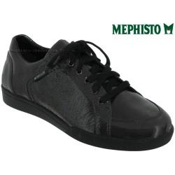 mephisto-chaussures.fr livre à Paris Lyon Marseille Mephisto Daniele Gris foncé vernis à lacets derbies