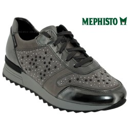 Mode mephisto Mephisto Tyna Gris cuir lacets_richelieu