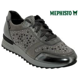 mephisto-chaussures.fr livre à Paris Mephisto Tyna Gris cuir lacets_richelieu