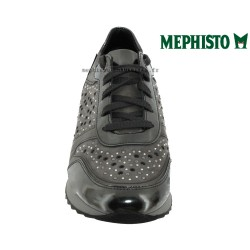 Mephisto Tyna Gris cuir lacets_richelieu