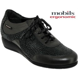 Mephisto Chaussures Mobils by Mephisto JACINTE Gris cuir a_talon_richelieu