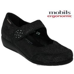 mephisto-chaussures.fr livre à Nîmes Mobils by Mephisto Janis Noir cuir ballerine