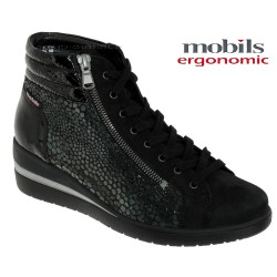 Mephisto Chaussures Mobils by Mephisto Pavina Noir cuir bottine