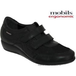 mephisto-chaussures.fr livre à Septèmes-les-Vallons Mobils by Mephisto JENNA Noir cuir scratch