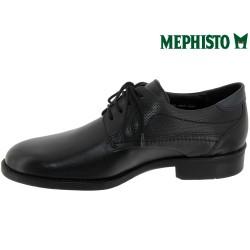 Mephisto Cirus Noir cuir lacets_derbies