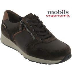 Mephisto Chaussures Mobils by Mephisto Herve Marron cuir lacets_richelieu