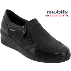 Mephisto Chaussures Mobils by Mephisto Nissia Noir cuir a_talon_mocassin