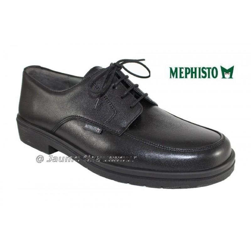 chaussure Homme prix FRONTO Noir cuir 5528