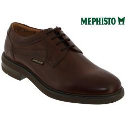 mephisto-chaussures.fr livre à Paris Lyon Marseille Mephisto Olivio Marron cuir lacets_derbies