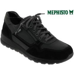 mephisto-chaussures.fr livre à Paris Lyon Marseille Mephisto Bradley Noir cuir lacets_richelieu