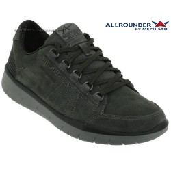 Mephisto Chaussures Allrounder Majolo Gris velours basket_mode_basse