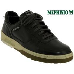 Mode mephisto Mephisto Marek Gris cuir lacets_richelieu