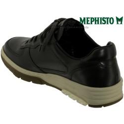 Mephisto Marek Gris cuir lacets_richelieu