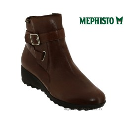 Mephisto Ariane Marron moyen cuir bottine
