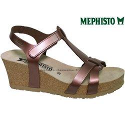 achat mephisto, Liviane, rose métallisé cuir chez www.mephisto-chaussures.fr (58075)