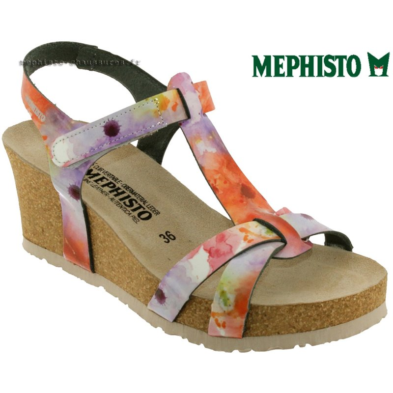 le pecq, Liviane, Multicouleur vernis chez www.mephisto-chaussures.fr (58083)