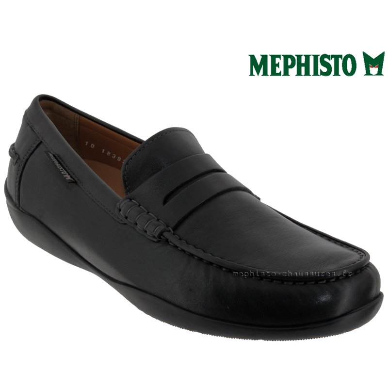 le pecq, Igor, Noir cuir chez www.mephisto-chaussures.fr (58317)