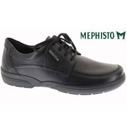 mephisto-chaussures.fr livre à Gravelines Mephisto AGAZIO Noir cuir lacets