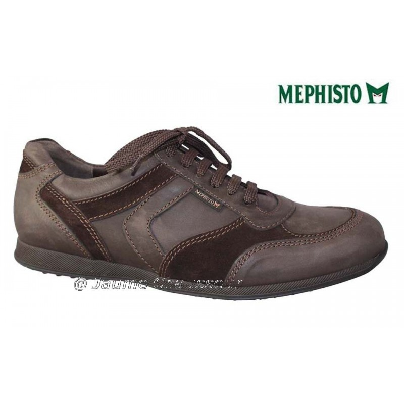 MEPHISTO Homme Lacet CYRIAC Marron cuir 5953
