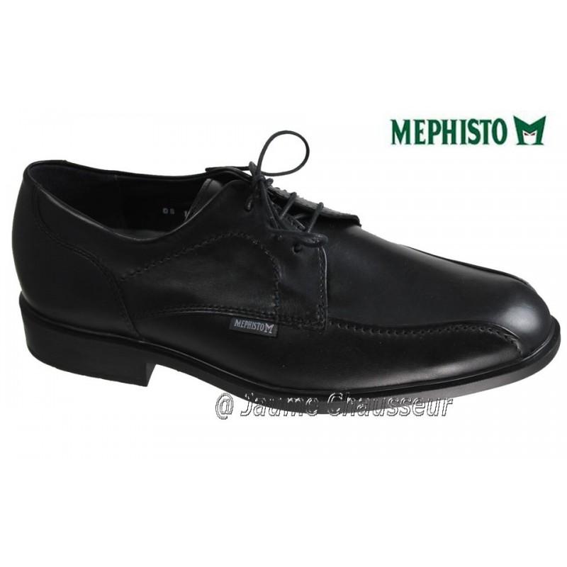 MEPHISTO Homme Lacet FODOR Noir cuir 5961