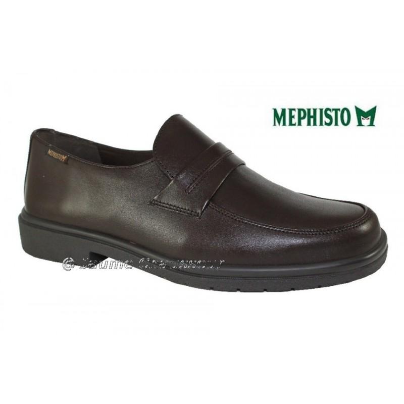 MEPHISTO Homme Mocassin FURSEO Marron cuir 5971