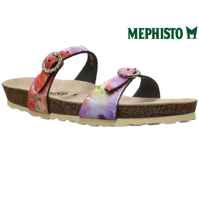 achat mephisto, Norie, Multi Rose cuir chez www.mephisto-chaussures.fr (60282)