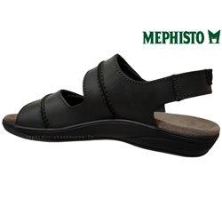 le pecq, SAGUN, Noir cuir chez www.mephisto-chaussures.fr (60611)