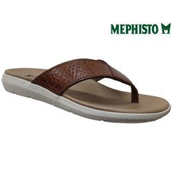 Mephisto Charly Marron cuir tong