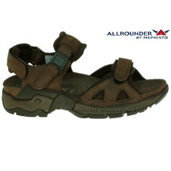 Mephisto Chaussure Allrounder ALLIGATOR Marron cuir sandale