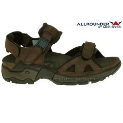 mephisto-chaussures.fr livre à Saint-Martin-Boulogne Allrounder ALLIGATOR Marron cuir sandale