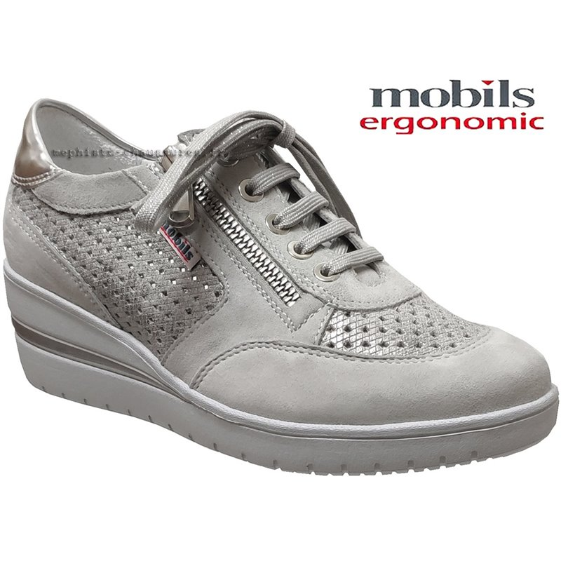 achat mephisto, Precilia_perf, Gris clair cuir chez www.mephisto-chaussures.fr (61743)