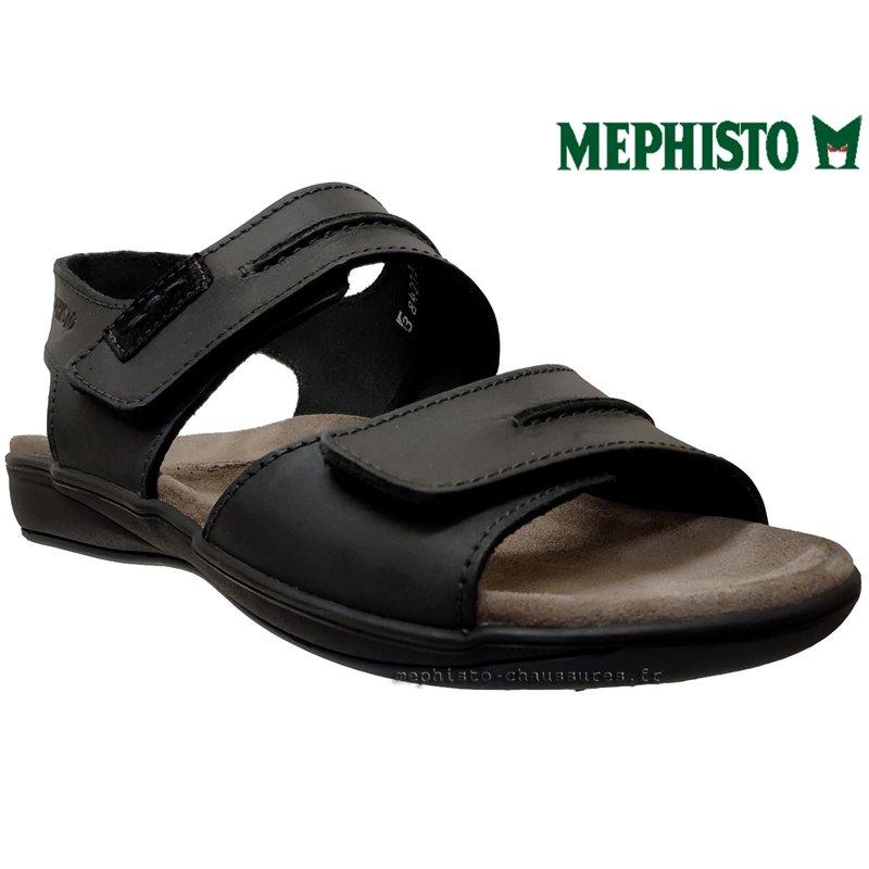 le pecq, SAGUN, Noir cuir chez www.mephisto-chaussures.fr (6177)
