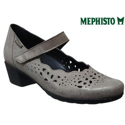 Mephisto Ivora Taupe cuir mary-jane