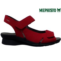 le pecq, Perry, Rouge nubuck chez www.mephisto-chaussures.fr (61824)