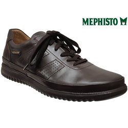 Mephisto Tomy Marron cuir lacets_richelieu