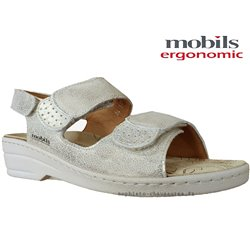 Mobils by Mephisto Roselie Platine cuir nu-pied