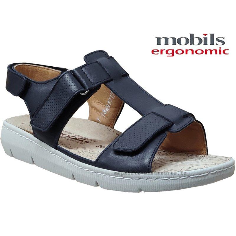 achat mephisto, Cassidie, Bleu cuir chez www.mephisto-chaussures.fr (61848)