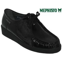 mephisto-chaussures.fr livre à Paris Lyon Marseille Mephisto CHRISTY Noir verni lacets_derbies