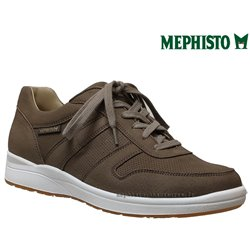Mephisto Vito perf Taupe nubuck lacets_richelieu