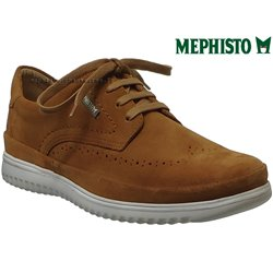 Mephisto Thibault Marron velours lacets_derbies