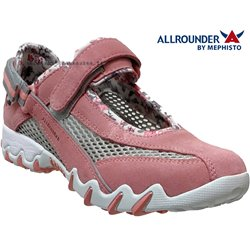 Allrounder NIRO FILET Rose nubuck basket_mode_basse