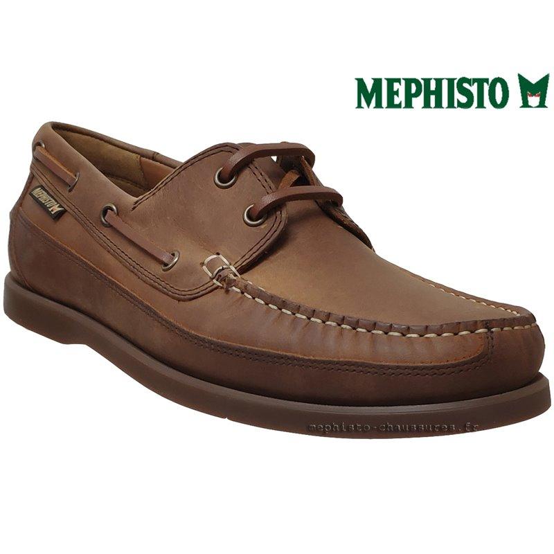 23daa873605411 Mephisto BOATING Marron cuir Bateau Pointure 40FR / EUR6.5
