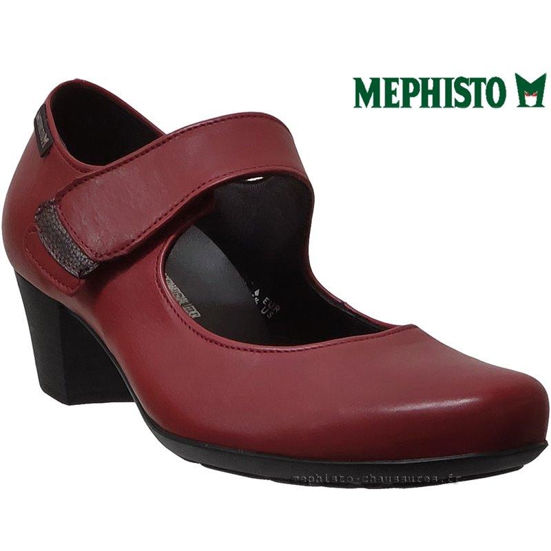 Mylene, Rouge cuir(62920)
