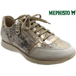 Mephisto Monia Gris/Taupe cuir basket_mode_basse