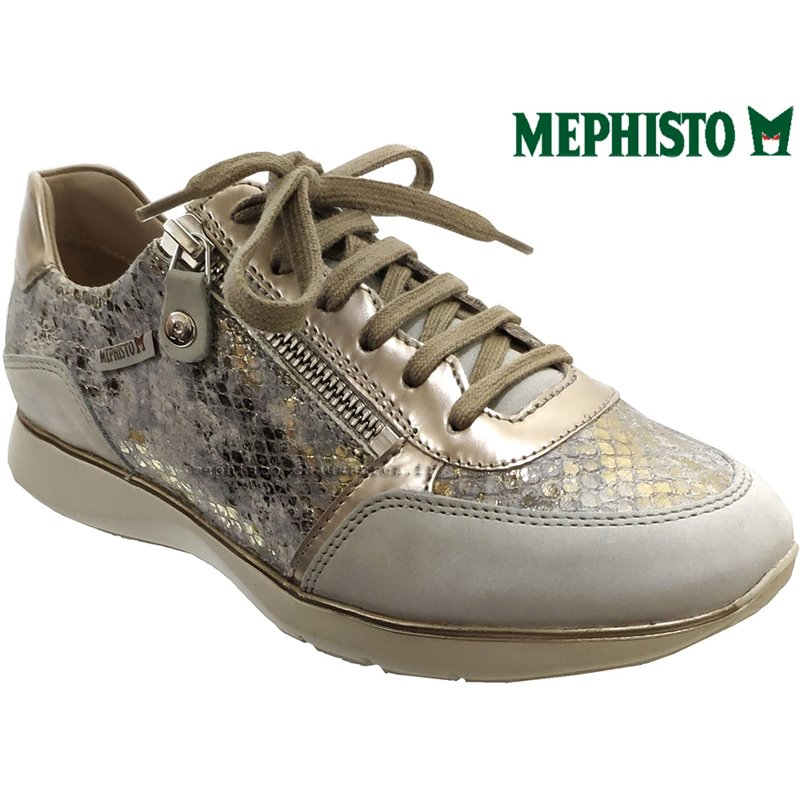le pecq, Monia, Gris/Taupe cuir chez www.mephisto-chaussures.fr (63030)
